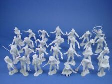 MARX Miners Trappers Cowboys Outlaws DARK GRAY 32 Recast 54mm Figures FREE SHIP