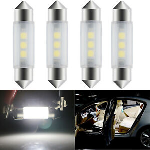 4X 6429 42MM LED Bulb Dome Map Trunk Light 3-SMD Bright Festoon for Ford Flex