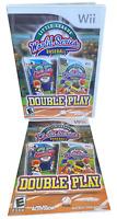 Little League World Series Baseball Double Play W Manual Nintendo Wii Game
