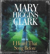I Heard That Song Before by Mary Higgins Clark (2007, CD, Abridged) New Sealed!