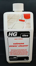 HG Tiles Extreme Power Cleaner Super Remover 1 Litre Product 20 For Most Floors