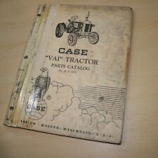 Case Model Vai Series Tractor Parts Manual Book Spare List Catalog Farm Factory