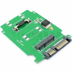 mSATA PCI-E PCIE SSD 50mm to 2.5-inch SATA Adapter Converter