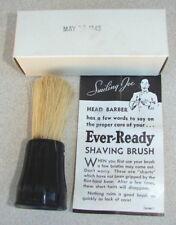Original WW2 US QM Issue GI Shaving Brush in Original 1943 Dated Box