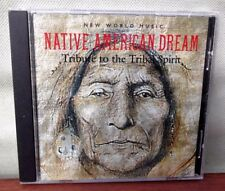 ♫ NATIVE AMERICAN DREAM ~ TRIBUTE TO THE TRIBAL SPIRIT ♫  ~ NEW AGE CD ALBUM VGC