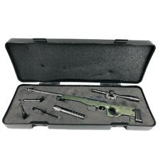 Miniature AWM 338 Sniper Rifle Mini Toy Gun | 1/5 Scale Replica Non-firing Toy