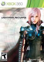 Lightning Returns: Final Fantasy XIII Xbox 360 Brand New