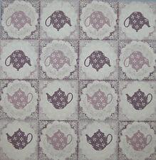 PAPER TABLE NAPKIN FOR CRAFT VINTAGE TEA POT JUG DECOUPAGE TEA PARTIES 168