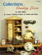 Faith Rollins: COLLECTIONS OF COUNTRY LOVES Painting Book - OOPS!