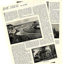 J. Pohle Die Sieg aus: DER WESTEN von 1927