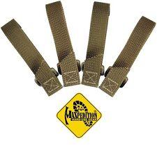 MAXPEDITION TAC TIE STRAP SET OF FOUR - 3 INCH - KHAKI, MX9903K