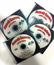 """4 - Nazareth Raceway DVDs from the """"unCut Series"""" - Snyder Video Productions"""
