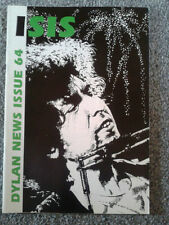 Bob Dylan Isis Bob Dylan Fan Club Magazine nr 64 rarità