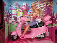 Simba Steffi Love mit Roller Inklusive Puppe