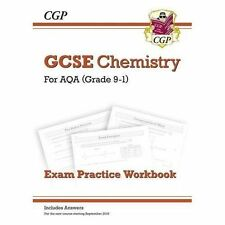 New Grade 9-1 GCSE Chemistry: AQA Exam Practice Workbook (with Answers) by...