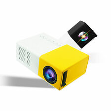 Mini Portable YG300 Multimedia LCD Projector Full HD 1080P Home Theater USB