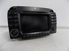 COMMAND UNIT CD RADIO NAVIGATION DVD GPS OEM MERCEDES W220 S430 S500 2003 - 2006