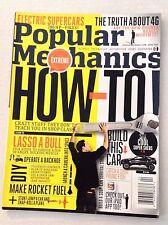 Popular Mechanics Magazine Lasso A Bull Electric Supercars April 2011 121916rh
