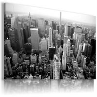 NEW YORK CITY  View Canvas Wall Art Picture Large SIZES  L101 MATAGA