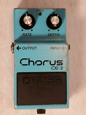 CLEAN Vintage BOSS CE-2 Guitar Effects CHORUS Pedal Made in Japan