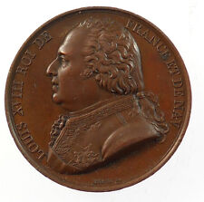 1820, France. LOUIS XVIII. CONSPIRACY AGAINST LEGAL RULE. By Barre