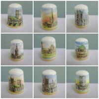 Victoria China Thimble Collectors Club TCC Cathedrals of Britain Vintage