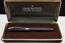 Sheaffer Imperial IV Fountain Pen Grey 1960s 14k Gold Nib