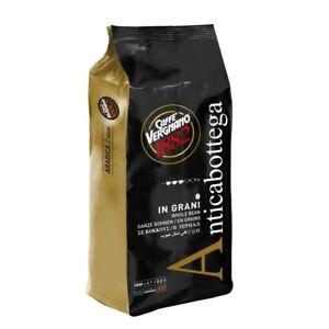 6 pacchi di Caffè Vergnano Antica Bottega in grani, pacchi da 1 kilo