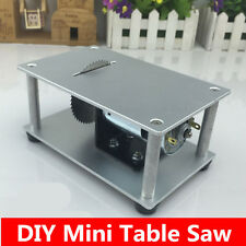 Micro table saw mini saws cutting machine 775 motor DIY Tool speed adjustable