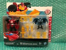 Transformers RID Robots In Disguise Sideswipe & Anvil Double Pack. New/Sealed