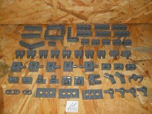 #1353# LEGO TECHNIC LOT DE 55 PIÈCES BEAM DKSTONE ref 32316 32526 3701 10197 ...