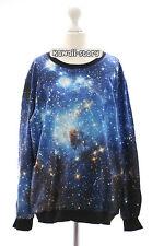 Ty-y060 Fantasy universo Star Sky estrellas sudadera suéter japón Harajuku