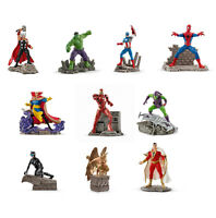 Schleich DC Comics Justice League or Marvel Hand Painted Figure NEW