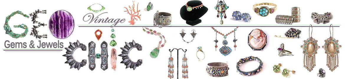 Geo-chic Vintage Jewelry