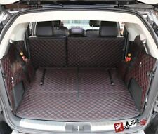 Car Rear Trunk Boot Mats Cargo Liner For Dodge Journey 09-17 All-Weather BLK/RD
