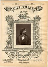 Lemercier, Paris-Théâtre, Jean-Sully Mounet, dit Mounet-Sully (1841-1916), acteu