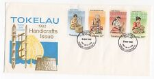 1982 TOKELAU ISLANDS First Day Cover HANDICRAFTS Issues