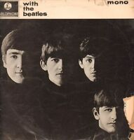 The Beatles(Vinyl LP)With The Beatles-Parlophone-PMC 1206-UK-1963-Poor/G+