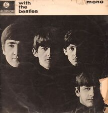 The Beatles(Vinyl LP)With The Beatles-Parlophone-PMC 1206-UK-1963-Poor/G+