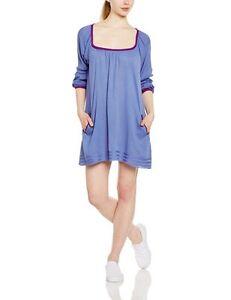 Roxy Women's Sweet Tropics Beach Dress, Blue (Chambray), Small - Brand New