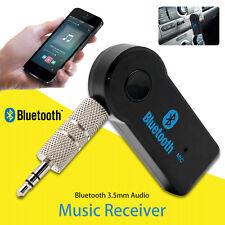 Neu Auto Bluetooth 3.0 Wireless AUX Empfänger Adapter KFZ Musik Audio Dongle DE