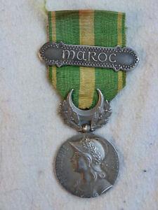 Médaille  commémorative du Maroc  créée en 1909