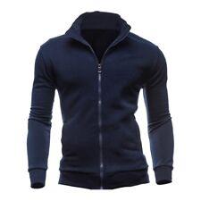 3X(Sweat-shirts Survetement de sport pour les hommes - marine XL B1L5