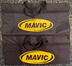 MAVIC MTB 29ER WHEEL BAG SET (2) with Handles Brand New