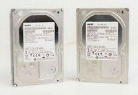 """LOT 2x HGST HUS724020ALA640 3.5"""" 2TB SATA III 6Gbps 7200RPM Hard Drive 0F19451"""