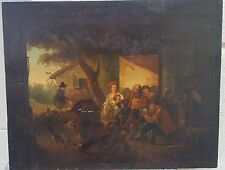 High Quality 19th Century Genre Painting EUROPEAN, ON PANEL- UNSIGNED