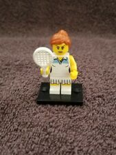 LEGO #8803 Mini figure Series 3 FEMALE TENNIS PLAYER