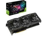 ASUS ROG Strix GeForce GTX 1660 Ti ROG-STRIX-GTX1660TI-A6G-GAMING Video Card