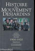 HISTOIRE DU MOUVEMENT DESJARDINS TOME I NAISSANCE CAISSES POPULAIRES 1990