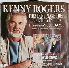 """New Unplayed 45rpm Record """"They Don't Make Them Like They Used To""""  Kenny Rogers"""